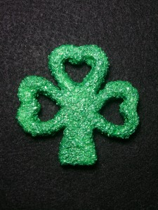 shamrock magnet from lefthandasylum.com